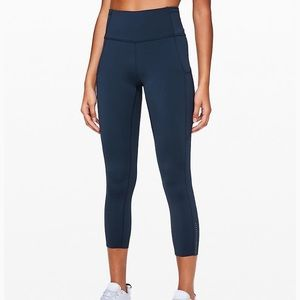Lululemon fast and free tights sz 6 - 7/8 length